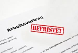 Arbeitsvertrag befristet - kredit voraussetzungen