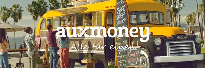 Auxmoney ist als P2P Plattform ebenfalls eine Alternative zum Geld leihen ohne Schufa.