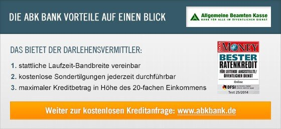 abk bank erfahrungen und bewertungen kredit im test. Black Bedroom Furniture Sets. Home Design Ideas