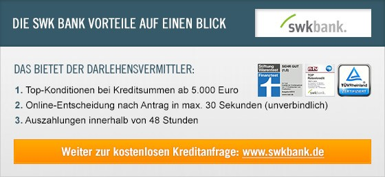 swk bank erfahrungen und bewertungen kredit im test. Black Bedroom Furniture Sets. Home Design Ideas