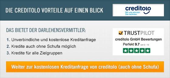 Kredit Erfahrungen zu Creditolo