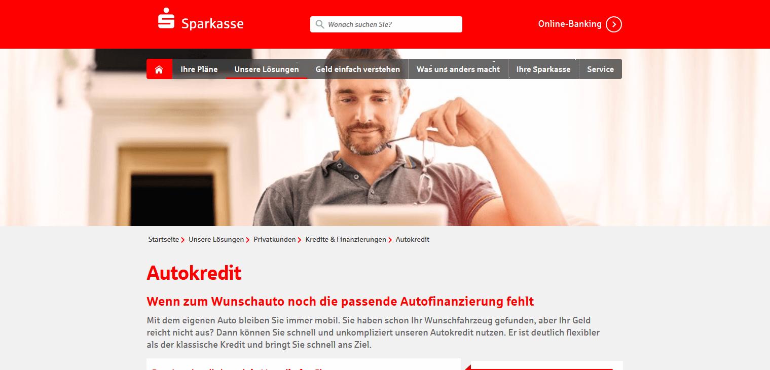 Sparkasse Autokredit