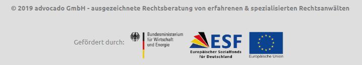 Rechtsportal advocado wird durcu EU gefördert