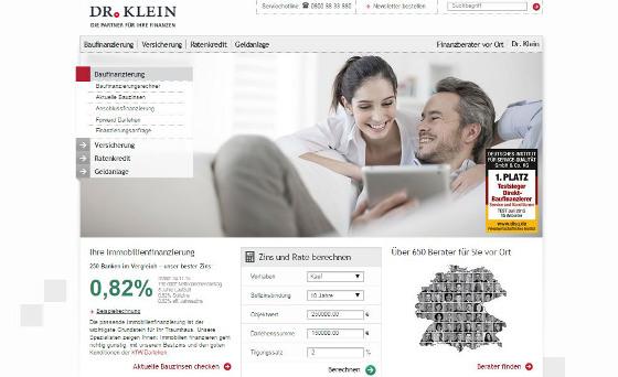 Dr. Klein beweist seit Jahrzehnten hohe Kompetenz bei der Vermittlung von Anschlussfinanzierungen