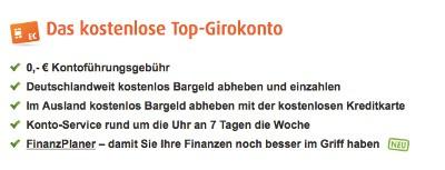 Norisbank Giro für Dispo