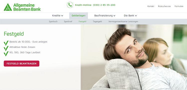 Allgemeine Beamtenbank Erfahrungen