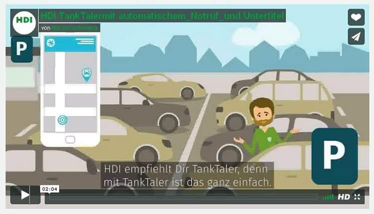 Mit den Tanktalern Geld sparen - HDI belohnt vorsichtige Autofahrer