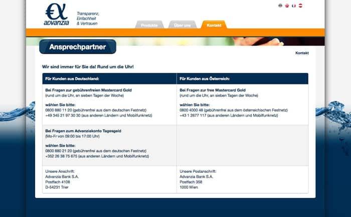 Advanzia Bank Trier Deutschland