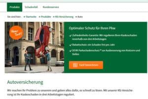 DEVK KFZ-Versicherung