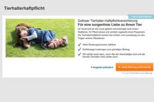 Gothaer Hundehaftpflicht-Versicherung