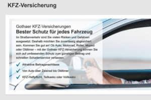 Gothaer KFZ-Versicherung
