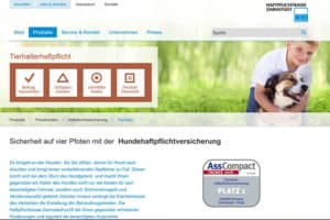 Haftpflichtkasse Darmstadt Hundehaftpflicht-Versicherung