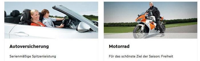 PKW, Oldtimer oder Motorrad? Die Württembergische Versicherung bietet für jedes Fahrzeug den passenden Schutz an!