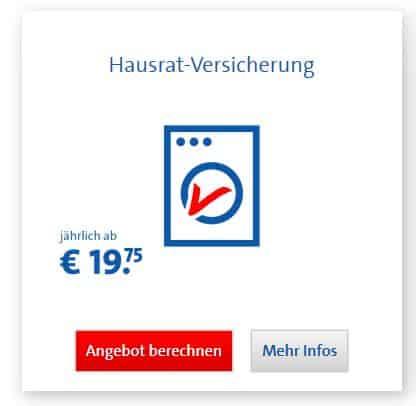 Bavaria Direkt Hausratversicherung Beitrag