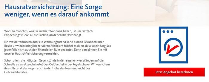 Bavaria Direkt Hausratversicherung