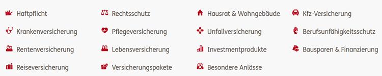 Ergo Riester-Rente Produktangebot