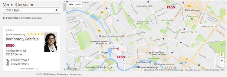 Ergo Riester Rente Service