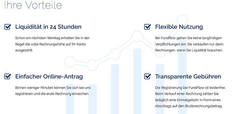 Fundflow Vorteile