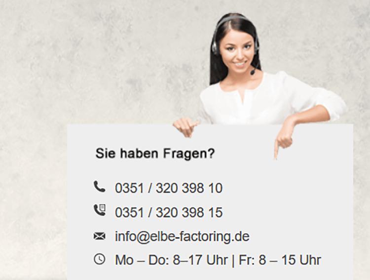elbe factoring-kontaktmöglichkeit