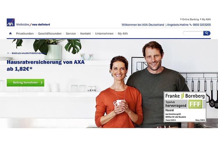 AXA Hausratversicherung
