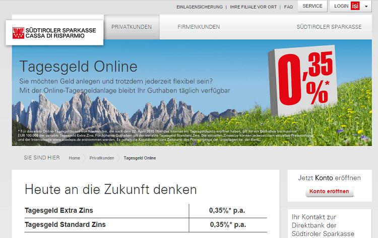 Sparkasse Südtirol Sicherheit