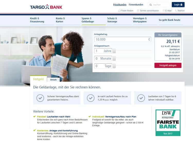 Targobank Festgeld Erfahrungen