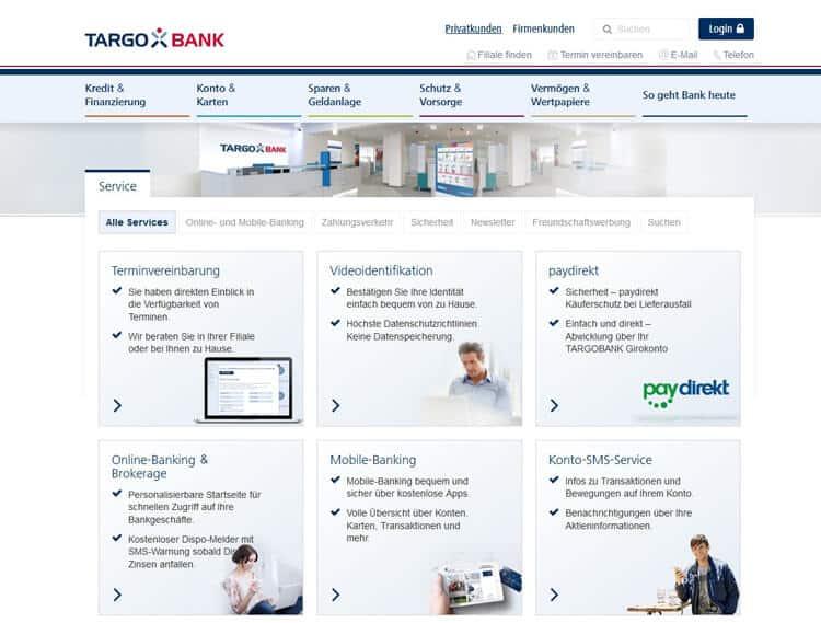 Kundenservice Targobank auf einen Blick