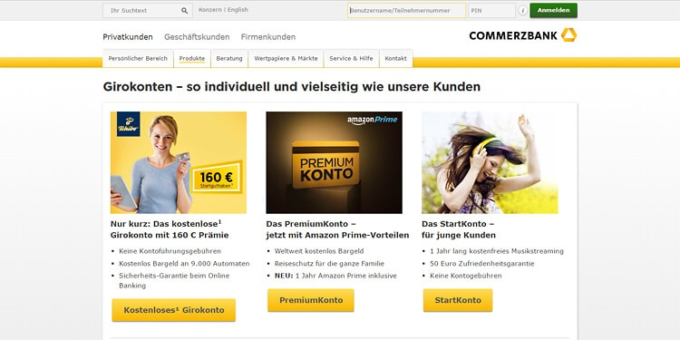 commerzbank baby sparbuch