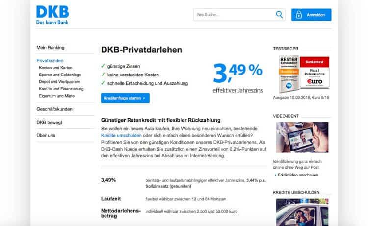 DKB Kreditbank Erfahrungen