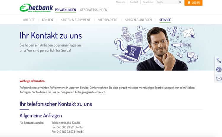 Netbank Kundenberatung