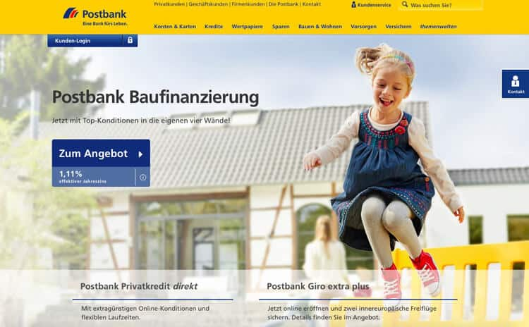Postbank Kredit Erfahrungen
