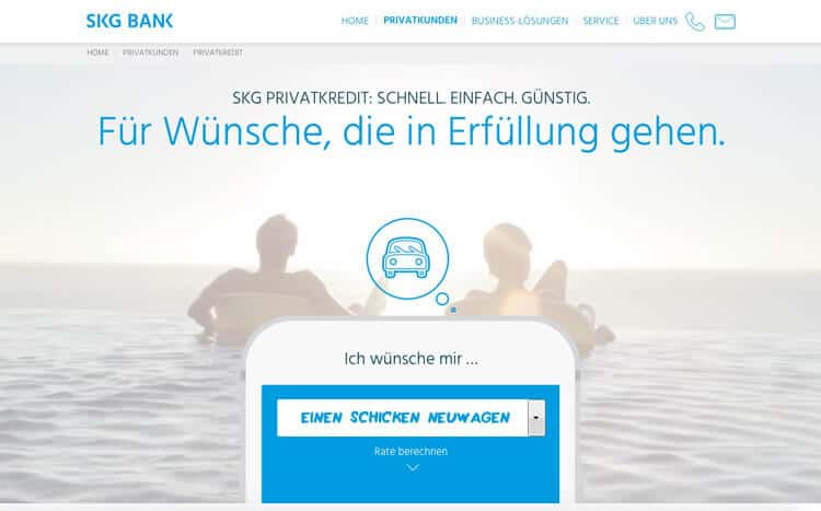 SKG Bank Kredit Erfahrungen