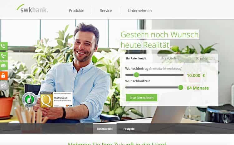 SWK Bank Kredit Erfahrungen