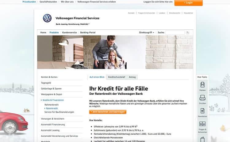 VW Bank Kredit Erfahrungen