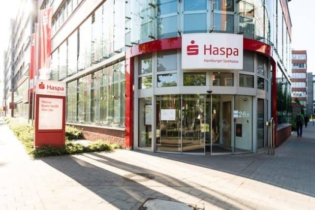 Bild einer Filiale der Haspa