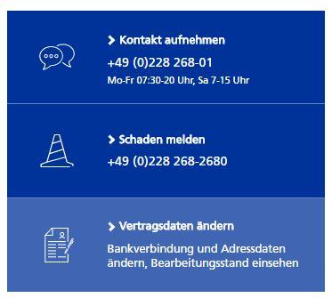 zurich rechtsschutzversicherung kontakt