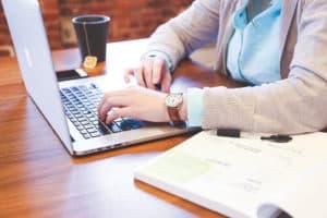Arbeitsplatz laptop Computer