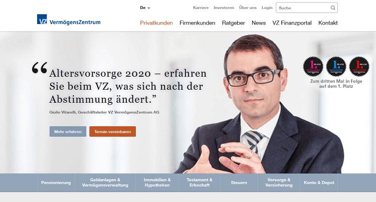 VZ Vermögenszentrum Schweiz