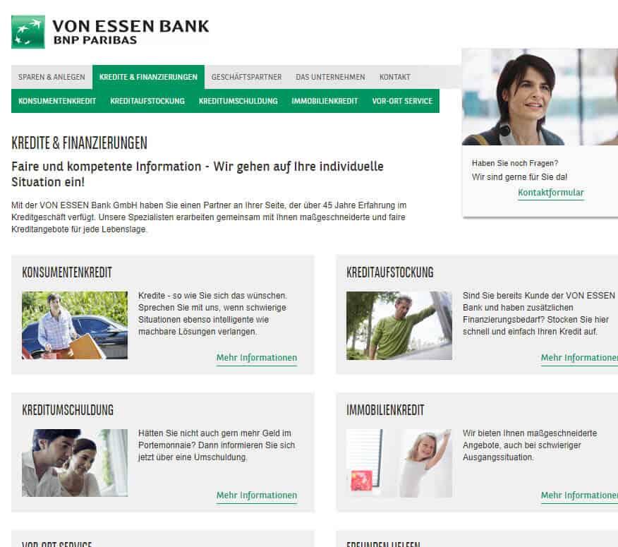 von essen bank kredit auszahlung von essen bank