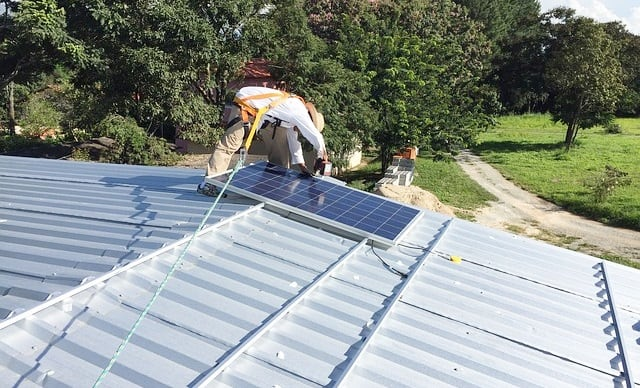 Solaranlage finanzieren fördern