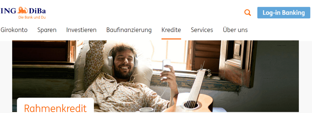 ING-DiBa Rahmenkredit Erfahrungen