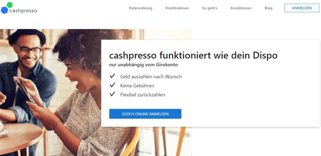 cashpresso Dispokredit