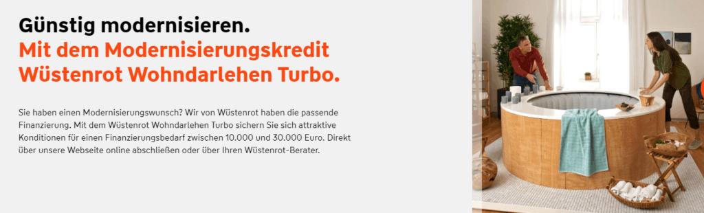 Der Wüstenrot Turbokredit bietet Vorteile, hat aber auch einige Nachteile.