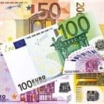 Diverse Geldscheine in EURO mit 500 EURO Bin Laden