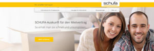 Schufa Website Header