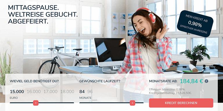 Qlick Kredit Startseite