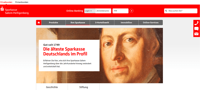 Älteste deutsche Sparkasse
