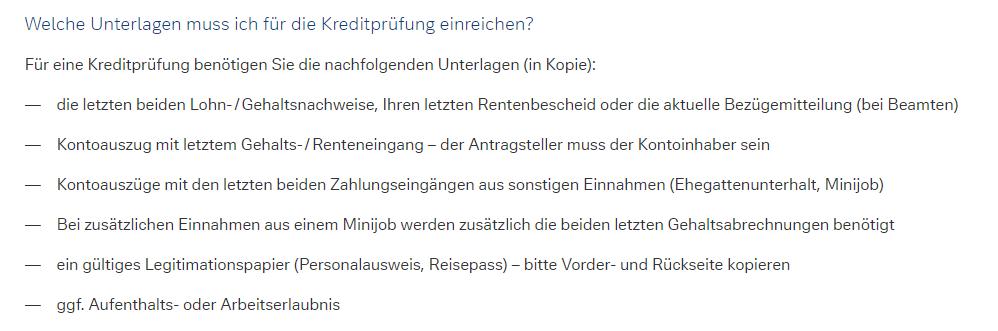 Kreditprüfung Deutsche Bank Unterlagen - Deutsche Bank Kredit vorzeitig ablösen