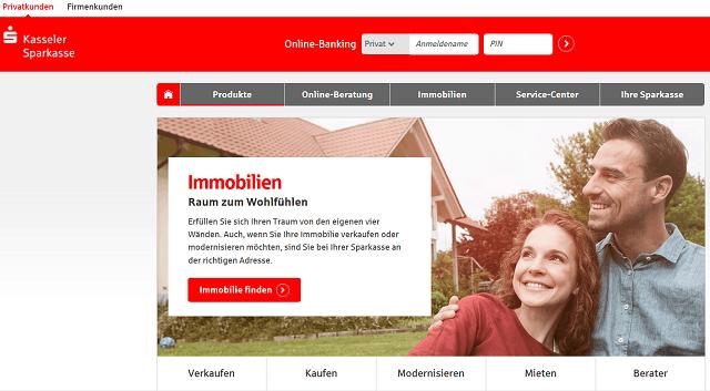 Screenshot Immobilienkredit