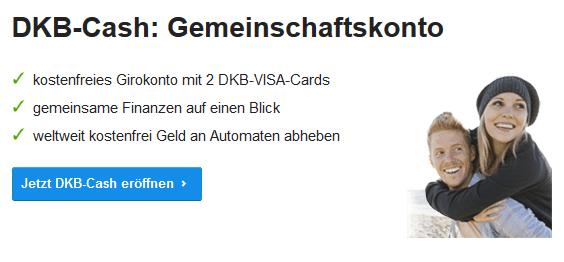 dkb Girokonto mit Partnerkarte